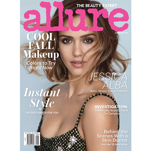 Allure - Mr. Smith featured on p.62 of the September issue of Allure (USA).