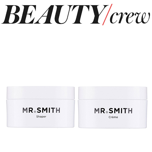 "Beauty Crew - Mr. Smith's Shaper and Crème featured in Beauty Crew's July 2017 '10 Styling Products You Need If You have Short Hair.' ""Mr. Smith Shaper is a high-hold medium shine paste that is great for short crops,"" says hairstylist Elyston Hayden. ""I love using this on my short-haired clients as it really brings out the natural texture in hair. Apply a 10-cent piece worth to towel-dried hair and style it up with your fingers."" ""If you're a short-haired girl, a light moulding cream, like Mr. Smith Style Cream, is crucial for definition as it's not too heavy and won't weigh the hair down,"" says Tarryn Cherniayeff, founder of Mob Hair.<br />