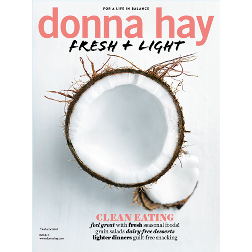 Donna Hay Fresh + Light - Mr. Smith is featured in the 'As Seen In' section of Issue 3 of Donna Hay's Fresh + Light magazine.