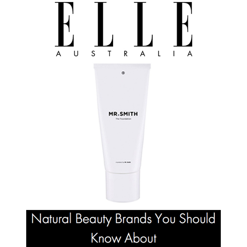 Elle Online - Mr. Smith is featured in Elle's 'Natural Beauty Brands You Should Know About'.