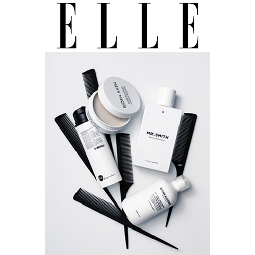 Elle  - Mr. Smith's Balancing Shampoo is featured in Elle Sweden's round up of the