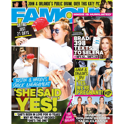Famous - Mr. Smith is featured on p.70 of the January 18th issue of Famous as a part of their 'Homegrown Heroes'.