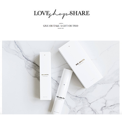 Love Shop Share - Mr. Smith featured on Erin Maxwell's Blog loveshopeshare.com as