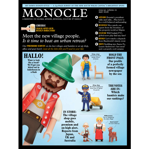 Monocle - Mr. Smith is featured in the May 2016 issue of Monocle Magazine on p. 213. Mr. Smith is listed in Monocle's best homeware and bathroom edit as their pick for Hair Products.