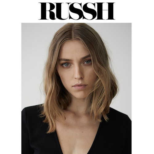 Russh  - Creative Director Freda Rossidis showed Eastland AW 17 Live for RUSSH Magazine how to recreate the look at home. In order to achieve this look, we prepared the hair by directly drying the Mr. Smith mousse into it. We then tonged the hair using a medium sized tong and the Mr. Smith Sea Salt spray to give it a natural wave. To finish, we applied the Mr. Smith serum, which gives it a beautiful polished finish.""