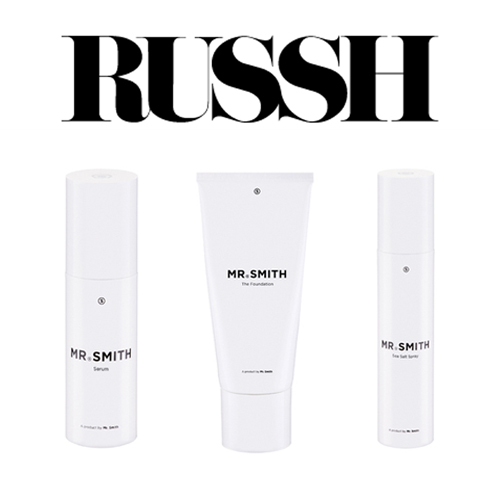 Russh - Mr. Smith featured on Russh's blog in the post 'He's The One'.