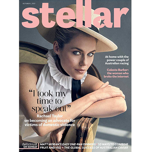 Stellar - Jesinta Franklin mentions Mr. Smith's Serum in her interview in the October 1st edition of Stellar Magazine.