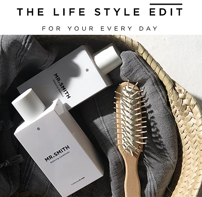 The Life Style Edit - Mr. Smith's Balancing Shampoo & Conditioner featured in The Life Style Edit article