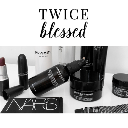 Twice Blessed - Mr. Smith's Sea Salt Spray is featured in Twice Blessed's 'March Beauty Favourites'.