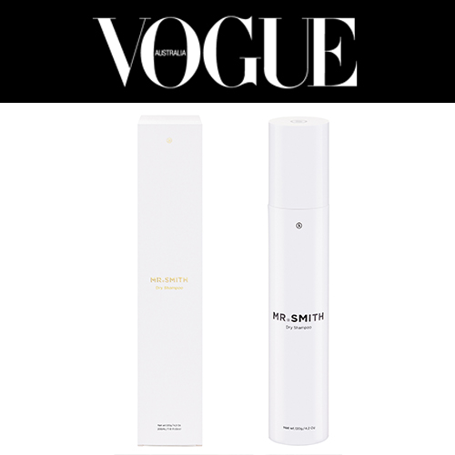 Vogue Australia - Mr. Smith's Dry Shampoo featured in Vogue Australia June 2017 online article 'Have you been doing it wrong? The foolproof way to blow dry your hair.'