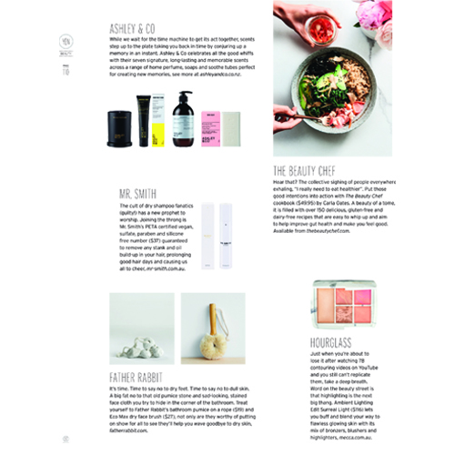 Yen - The Mr. Smith Dry Shampoo is featured on p.110 in issue 87 of Yen magazine.