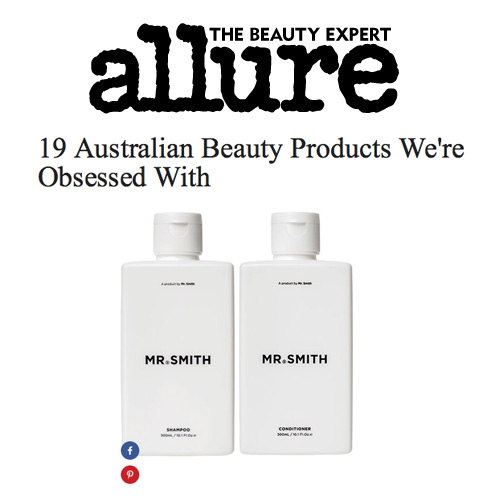 Allure - Mr. Smith featured at number 1 in the article '19 Australian Beauty Products We're Obsessed With' on allure.com<br />