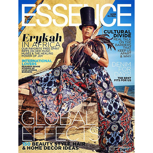 Essence - Mr. Smith featured in 'Strand Savers' on p.48 of the Essence Magazine (USA) August 2015 issue.<br />