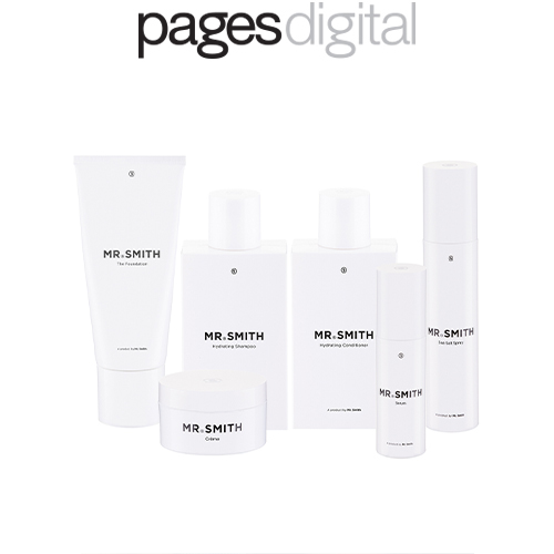 Pages Digital - Mr. Smith features in Rachael Stevenson's article '6 Beauty Brands with Display-worthy Design' by Pages Digital.