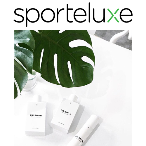 Sporteluxe - Mr. Smith featured as one of Sporteluxe's '9 On-Trend Brands for a Stylish Bathroom'.