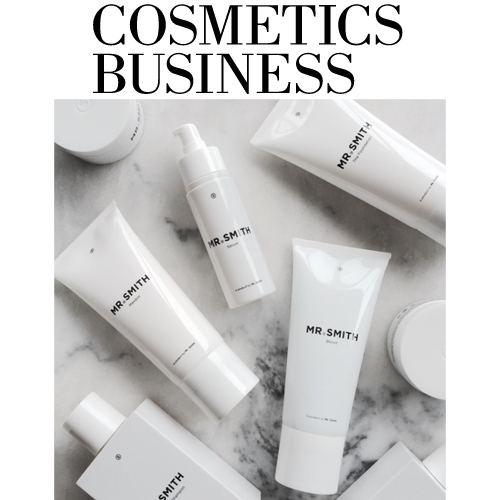 Cosmetics Business - Mr. Smith features in Cosmetics Business article 'This Australian gender-neutral hair care brand has landed in the UK'.