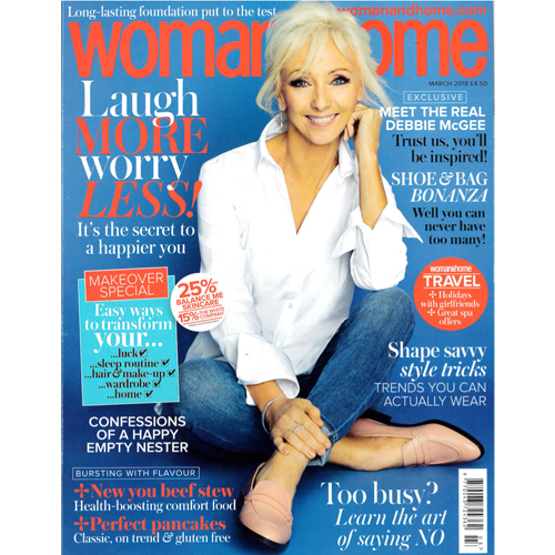 Woman & Home - Mr. Smith's Blond features in the March Issue of Woman & Home on p. 151.