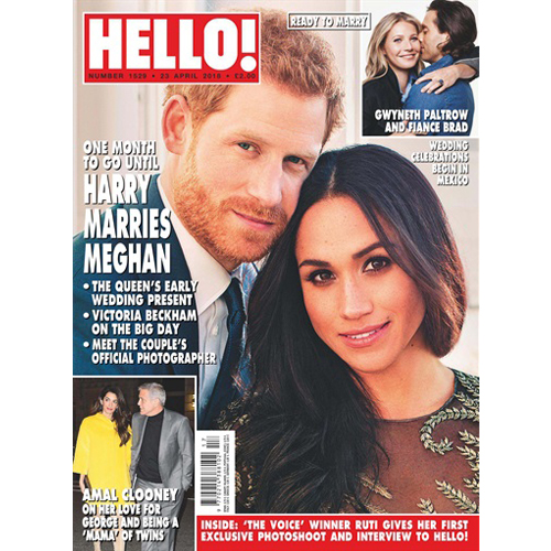 Hello! - Mr. Smith's Balancing Shampoo is featured in the April 23rd 2018 Issue. The Shampoo features in 'Hello! Loves' for 'Long and Lustrous' hair.