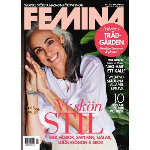 Femina - Mr. Smith's Masque is featured on p. 141 of Femina Magazine.