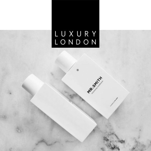 Luxury London - Mr. Smith features in Luxury London's March 26th 2018 article, 'Volumising Products For Va-Va Voom Hair'.