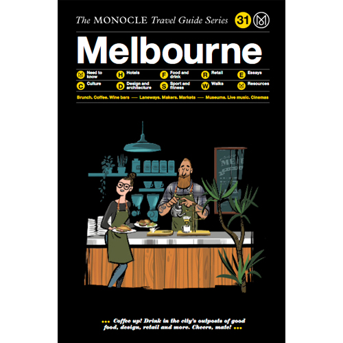 The Monocle Travel Guide - Mr. Smith features on p. 68 of the Melbourne Monocle Travel Guide, in 'Things we'd buy- Made in Melbourne'.
