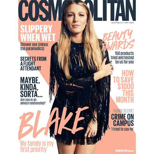 Cosmopolitan - Mr. Smith's Hairspray features on p. 51 of the May 2018 Issue of Cosmopolitan.