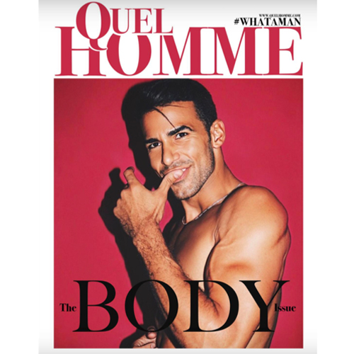 Quel Homme - Mr. Smith's Balancing Shampoo and Conditioner are featured in Quel Homme's May 2018, 'The Body Issue'.