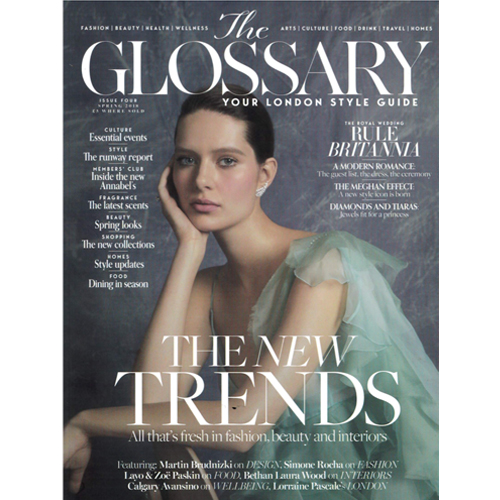The Glossary - The Glossary UK features Mr. Smith's Serum on p. 68 of their Spring 2018 Issue.