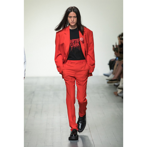 London Men's Fashion Week | John Lawrence Sullivan | Spring Summer 2019