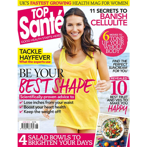 Top Santé - Mr. Smith features in the June 2018 Issue of Top Santé magazine. The Foundation is featured in 'Beauty Toolkit- Mane Changers'.