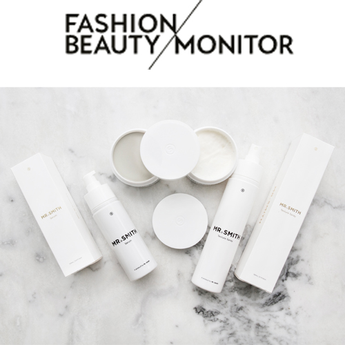 Fashion & Beauty Monitor - Mr. Smith has been featured on Fashion Monitor's July 11th 2018 article, 'Case In Point: Unisex Beauty'.