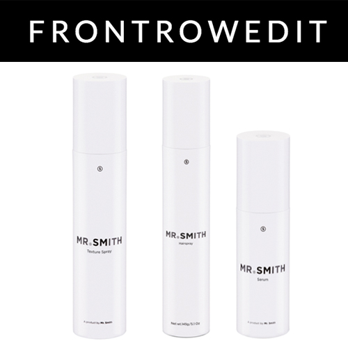 Front Row Edit UK - Front Row Edit's September 7th 2018 article, 'Get The Look: Noon By Noor Spring Summer 2019' features Mr. Smith Texture Spray, Hairspray and Serum. <br />